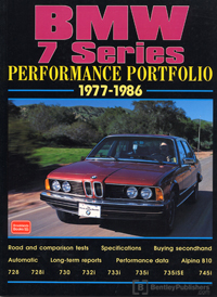 BMW 7 Series Perf Portfolio 77-86