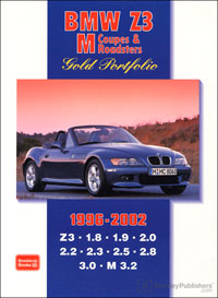 BMW Z3 M Gold Portfolio 1996-2002 