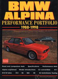 BMW Alpina Perf Portfolio 1988-98