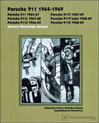 Porsche 911 64-69 Workshop Manual 