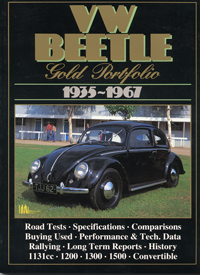 VW Beetle Gold Portfolio 1935-67