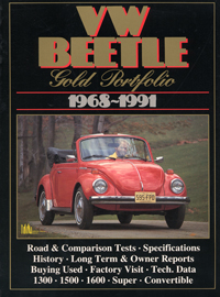 VW Beetle Gold Portfolio 1968-91