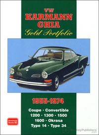 VW Karmann Ghia Portfolio 1955-74