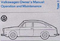 VW TYPE 3 (SQU/FASTACK) 1973 OM