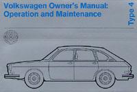 VW TYPE 4 1972 OM