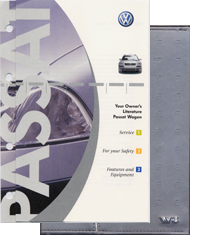 VW Passat W8 Wagon 2003 OM Binder