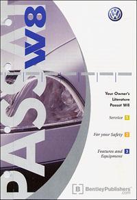 vw volkswagen owner s manual passat w8 wagon 2005 bentley rh bentleypublishers com 2002 passat w8 repair manual 2002 passat w8 repair manual