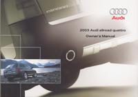 Audi Allroad Quattro 2003 OM