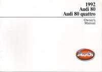 Audi 80/80 quattro 1992 OM