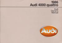 Audi 4000 quattro 1986 OM