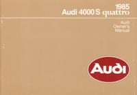 Audi 4000S quattro 1985 OM