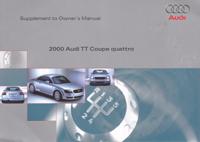 Audi TT Coupe quattro supp 2000 OM