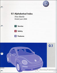 VW New Beetle 2006 OM Binder