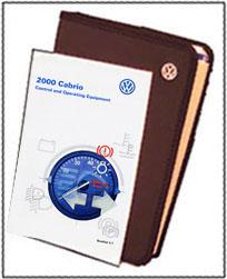 VW CABRIO 2000 OM BINDER