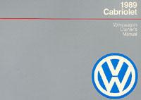 VW CABRIOLET 1989 OM
