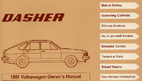 VW DASHER 1981 OM