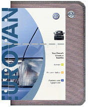 VW Eurovan 2002 OM Binder