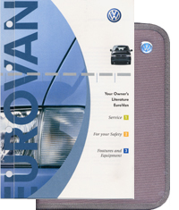 VW Eurovan 2003 OM Binder