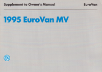VW Eurovan MV Supplement 1995 OM