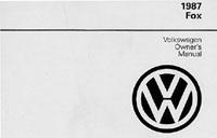 VW FOX 1987 OM