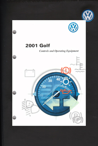 vw volkswagen owner s manual golf 2001 bentley publishers rh bentleypublishers com vw owners manual download vw owners manual wvwek73c36p103413
