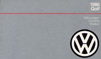 VW GOLF 1986 OM