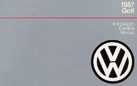 VW GOLF 1987 OM