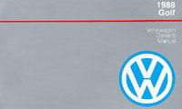 VW GOLF & GTI 16V 1988 OM