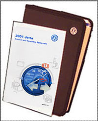 VW Jetta 2001 OM Binder
