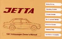 VW JETTA (A2 BODY STYLE) 1981 OM