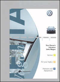 VW Jetta Wagon 2001 OM Binder