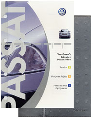 VW Passat Sedan 2002 OM Binder