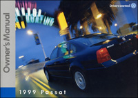 VW Passat 1999 Owners Manual