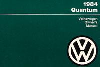 VW QUANTUM 1984 OM