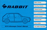 VW RABBIT 1978 OM