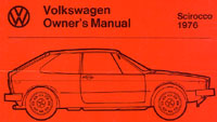 VW SCIROCCO 1976 OM