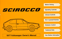 VW SCIROCCO 1977 OM