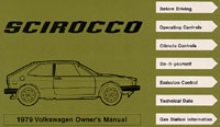 VW SCIROCCO 1979 OM