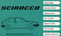VW SCIROCCO 1980 OM