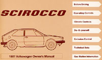VW SCIROCCO 1981 OM