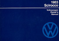 VW SCIROCCO INCL 16V 1983 OM