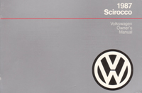 VW Scirocco 1987 OM