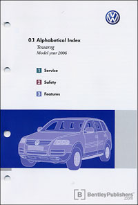 vw volkswagen owner s manual touareg 2006 bentley publishers rh bentleypublishers com vw owner's manual vw owners manual wvwek73c36p103413
