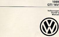 VW GTI 16V 1989 OM