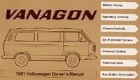 VW VANAGON 1981 OM