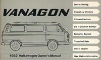 VW VANAGON 1982 OM