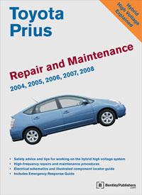 Toyota Prius Manual 2004-2008