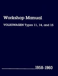 VW Type 11 14 15 1958-60 LPV800137