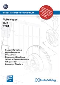 VW R32 2004 DVD