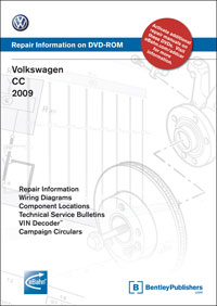 Volkswagen CC 2009 DVD